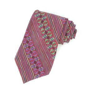 Vintage Missoni Silk Abstract Striped Neck tie